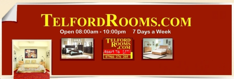 Click to see all our Rooms to Rent with Telford Rooms